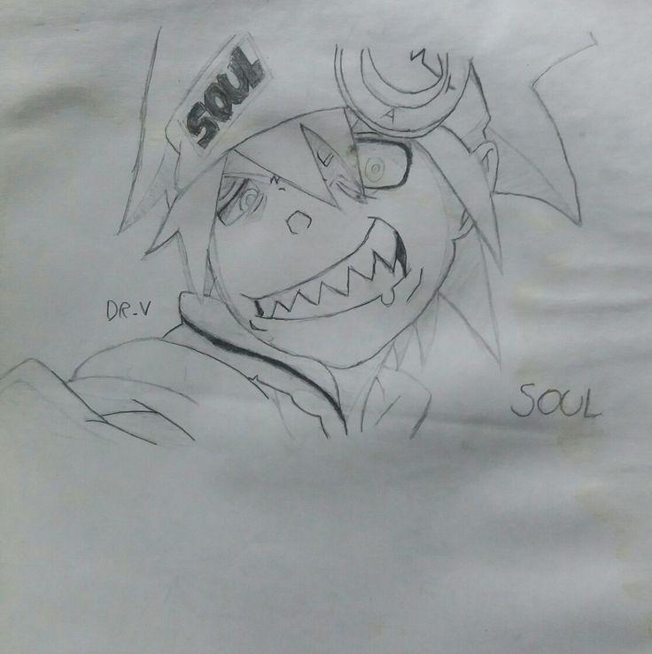 Dibujo antiguo: Soul Eater Evans.