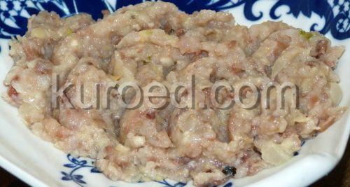Шаг 4 - готовый форшмак выкладываем на блюдо