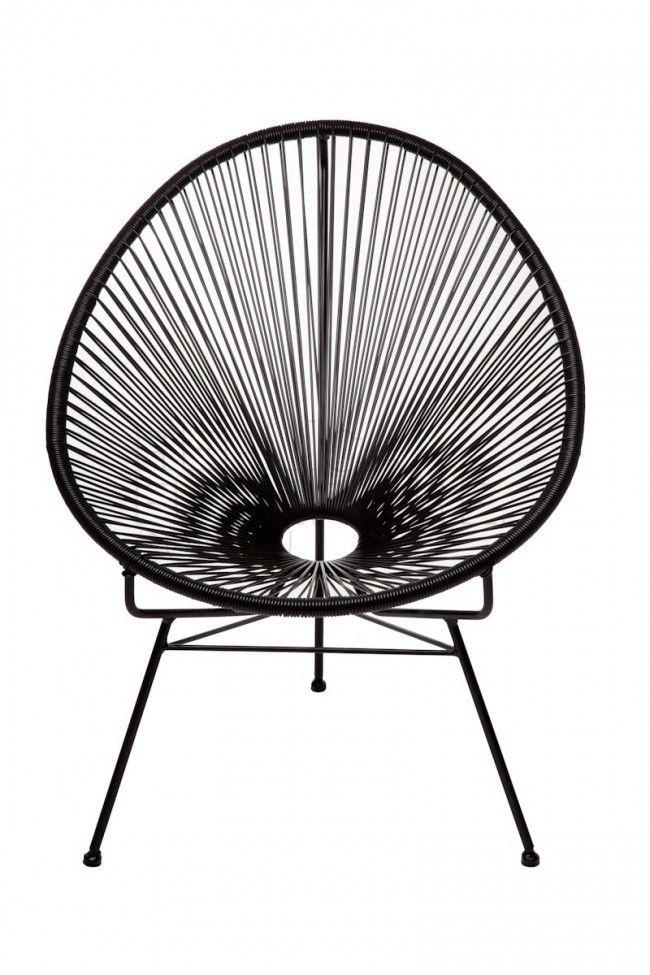 Lovely chair for inside- or outside use. http://www.landromantikk.no/mobler/bord-stoler/mamasita-stol.html