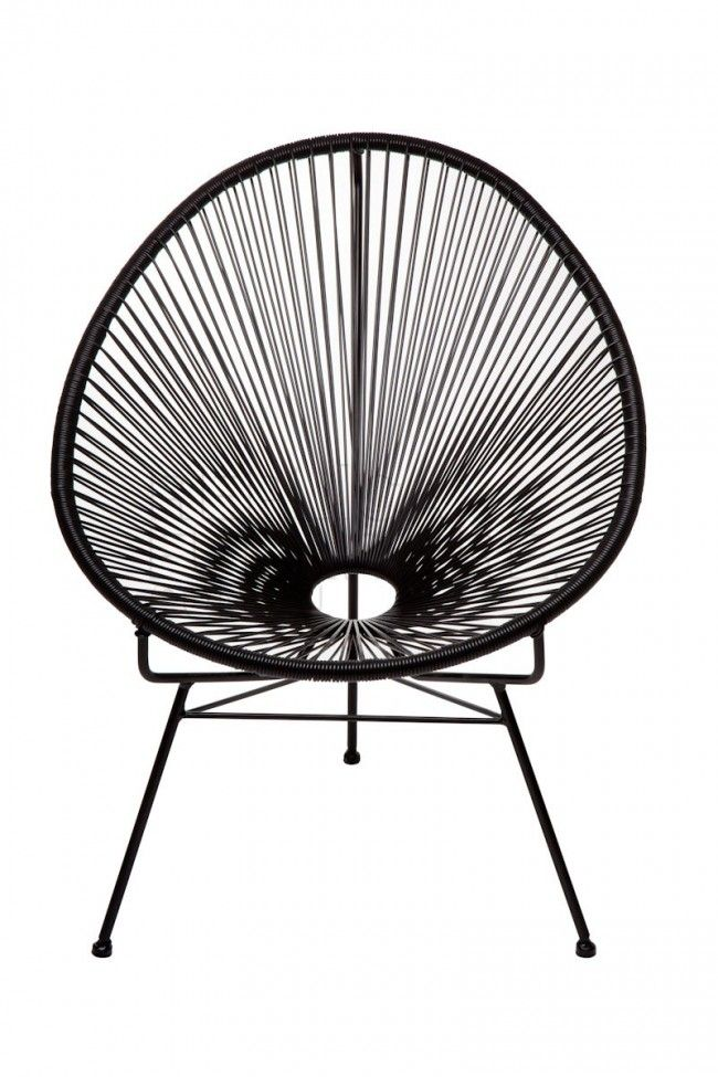 Lovely chair for inside and outside use. http://www.landromantikk.no/mamasita-stol.html