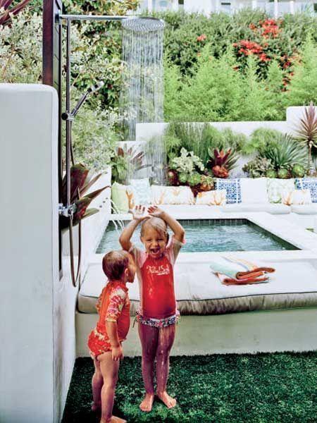 Family friendly pools