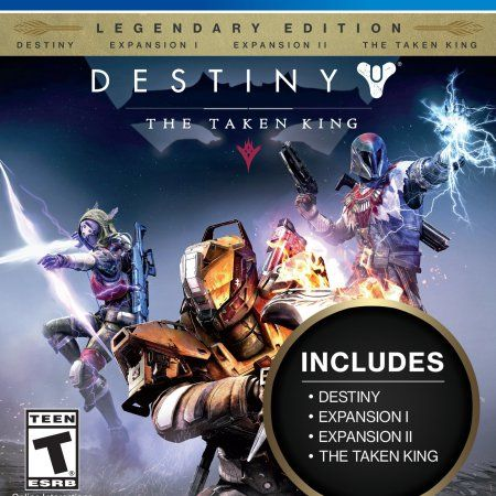 Wal-Mart.com USA LLC -Activision Destiny: The Taken King  Legendary Edition  Action/adventure Game  Playstation 4 (87442 2)