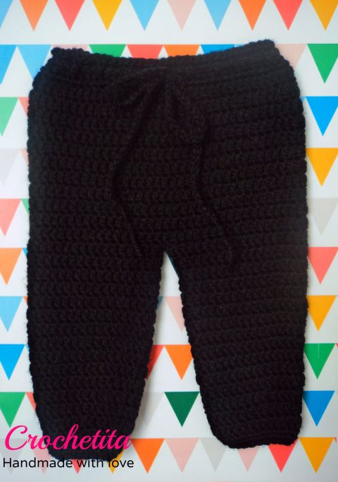 Crochet baby pants