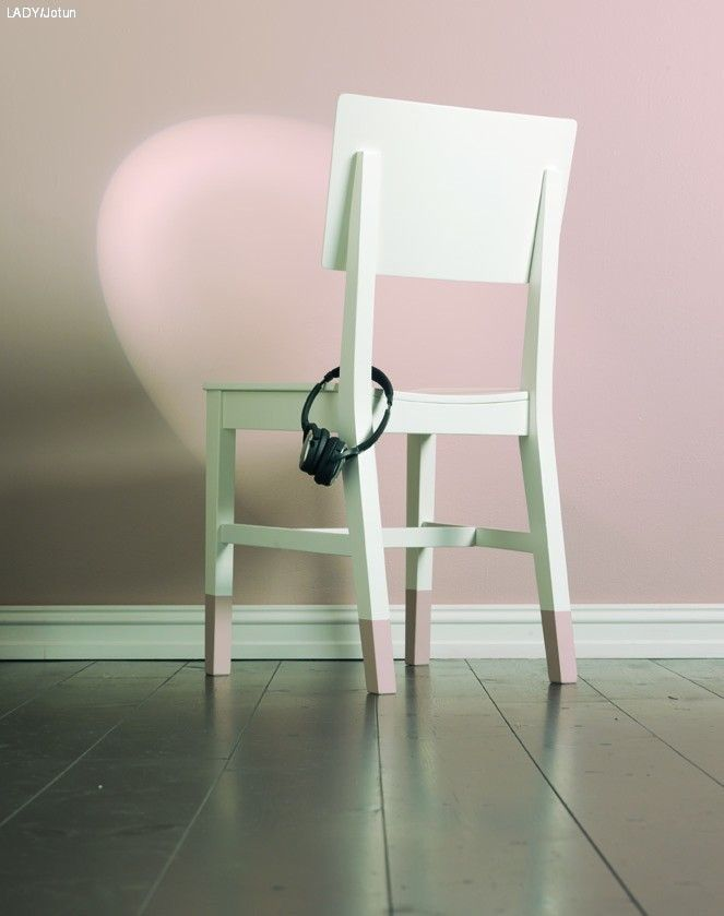 Hvordan male en stol, to stoler, tre stoler