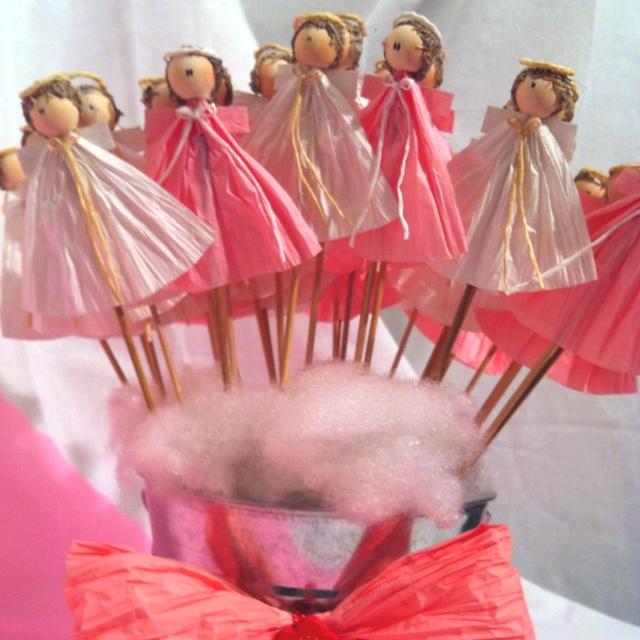 Angelitos bautizo