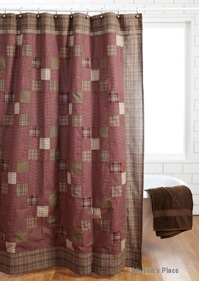 1000 Images About Primitive Shower Curtains On Pinterest