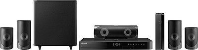 Home Theater Systems: Open-Box Excellent: Samsung - 5 Series 1000W 5.1-Ch. 3D Smart Blu-Ray Home ... -> BUY IT NOW ONLY: $243.99 on eBay!
