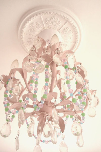 34 best images about green blue decor ideas on pinterest for Shabby chic garland lights