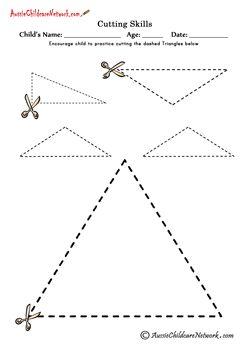 Üçgenler Kesme Kesme Şekilleri