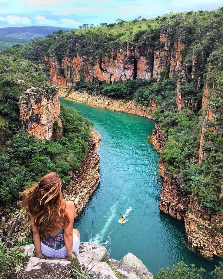 """South America on Instagram: """"Location: Lago de Furnas - Capitólio, Minas Gerais, Brasil. Photo Credit: @gabifarrel Via nossos amigos @trilhandomontanhas"""""""