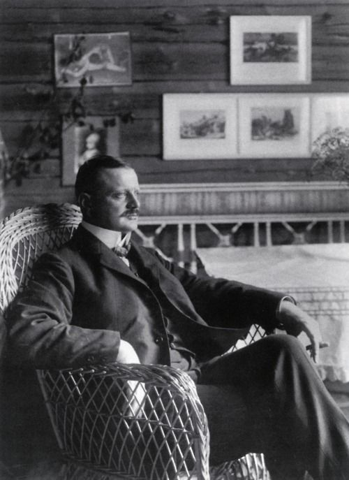 Jean Sibelius (1865-1957) was a Finnish composer. His music played an important role in the formation of the Finnish national identity.