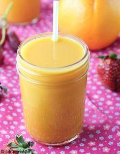 Vitaminé : oranges, tomate, papaye, myrtilles, baies de goji