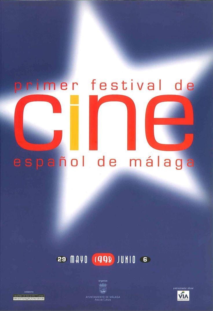 Cartel Festival Cine Malaga 1998