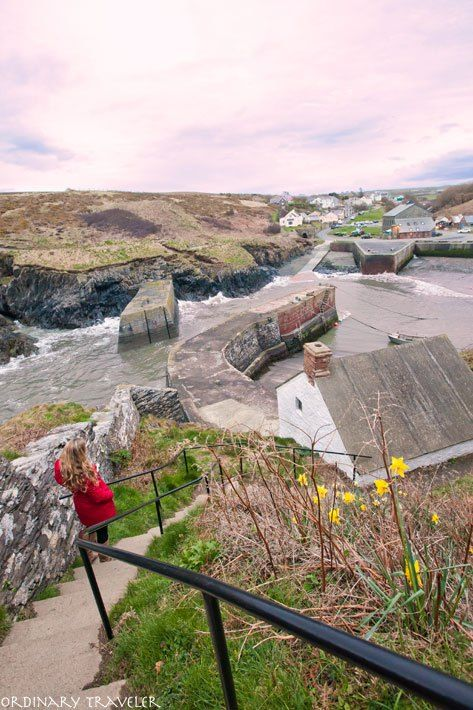 Porthgain: A lovely spot for sunset photos, a hike, dinner at one of the restaurants, or browsing the art galleries.