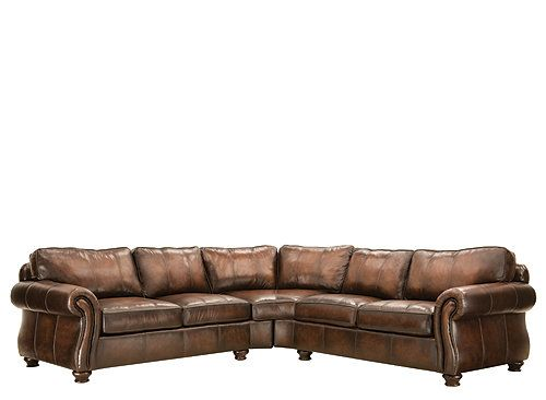 Van Gogh Leather Sectional Sofa   Soon To Be In My Living Room!