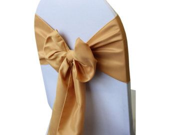 Items similar to Burlap Rosette Wedding chair sashes, for covered chairs ( 50 ) on Etsy