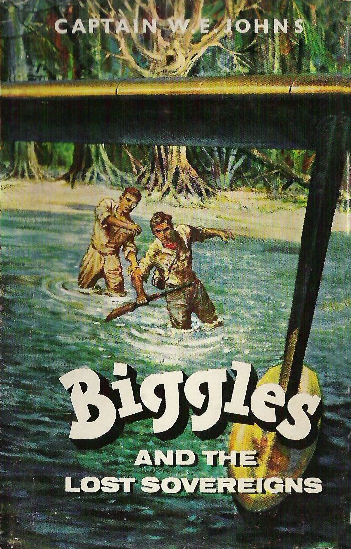 Biggles Online | Gallery for Biggles and the Lost Sovereigns