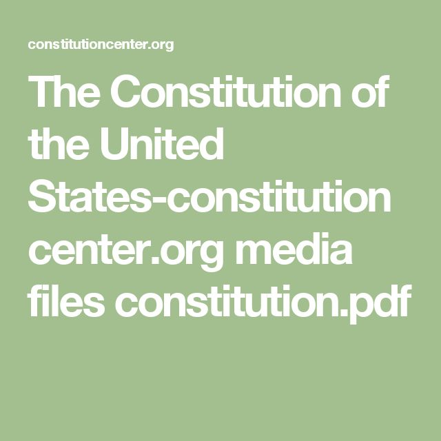 The Constitution of the United States-constitutioncenter.org media files constitution.pdf