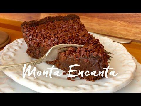 Torta de Brigadeiro rapidinha de fazer e deliciosa! - Monta Encanta