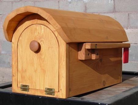 Wooden mailbox - plans