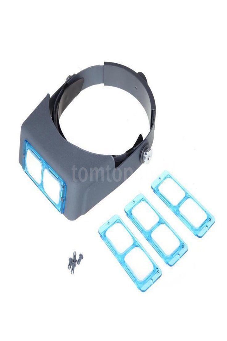 Headband Magnifier Head Magnifier Hands Free Magnifying Glass Optivisor Set
