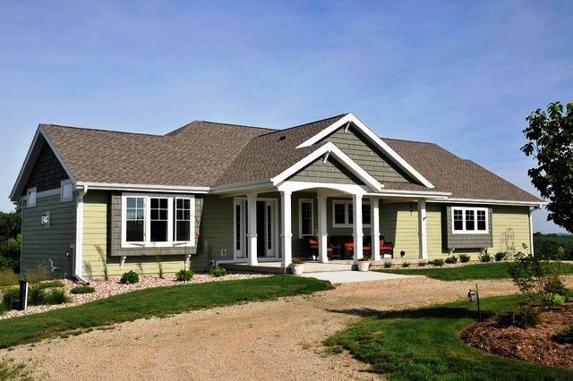 ranch house remodel ranch homes exterior and painted brick houses. Black Bedroom Furniture Sets. Home Design Ideas