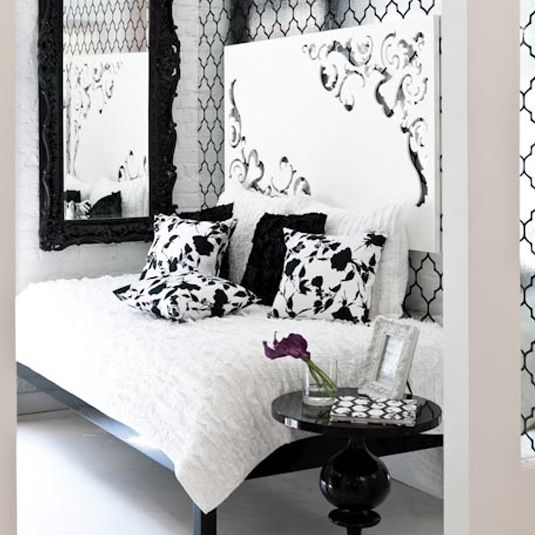 Brocade Wallpaper   MadeByGirl  Brocade Home Foil Wallpaper     Via Made By. 50 best Headboards                     images on Pinterest