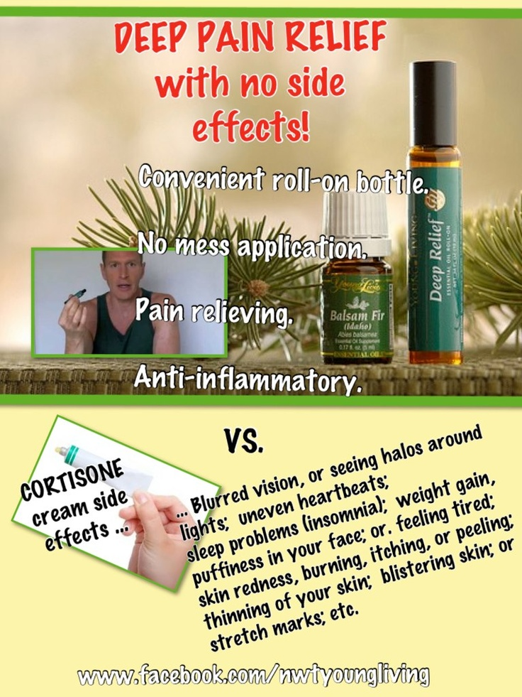 Deep Relief Roll On Vs Cortisone Young Living Oil