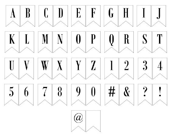 This is an image of Printable Letters for Banners pertaining to capital letter large