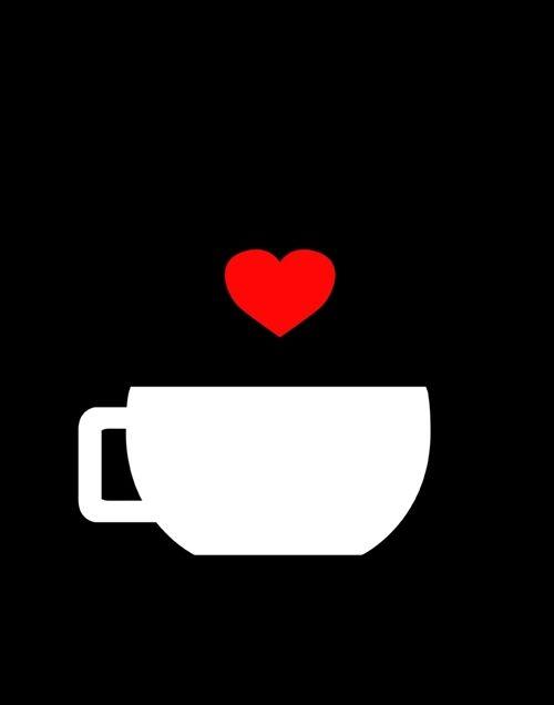 David Hart - coffee love poster