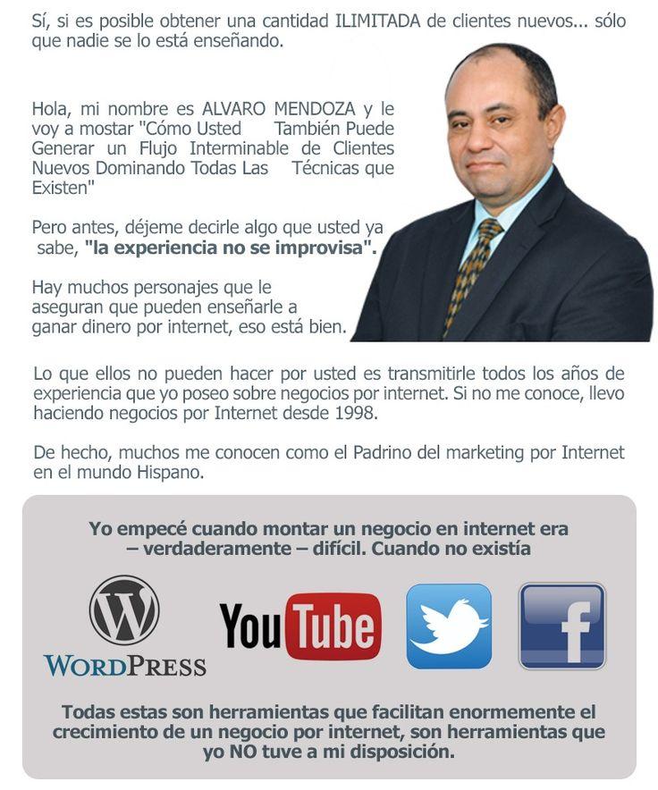 Flujo Ilimitado de Clientes por Alvaro Mendoza — Flujo Ilimitado de Clientes