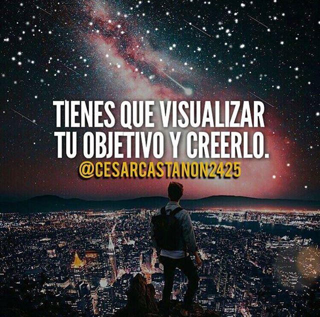 Reposting @cesarcastanon2425: Tienes que visualizar tu objetivo y creerlo #liderazgo #lider #emprendedores #emprendedor #riesgo #objetivo #empresa #gerencia