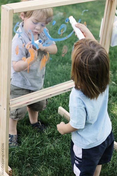 Outdoor Easel Tutorial & Plans: Making Art