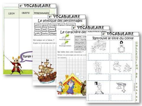 VOCABULAIRE : Les contes CP/CE1