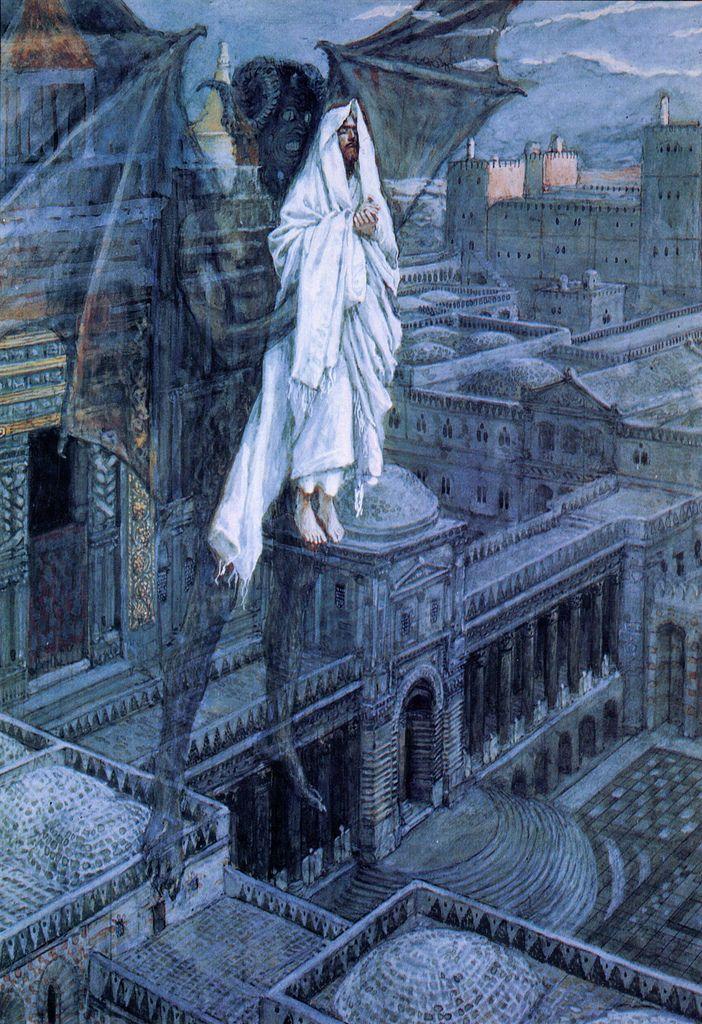 James Tissot - Satan Tried to Tempt Jesus, 1895