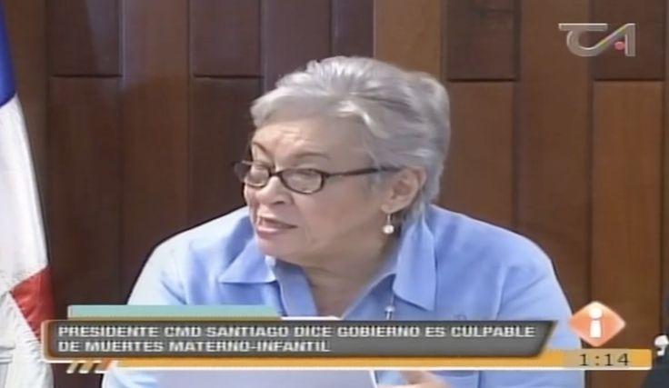 Presidente De Colegio De Médico En Santiago Culpa Al Gobierno Por Muerte De Recién Nacidos