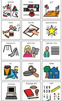 Free Boardmaker Picture Schedules | Kindergarten Daily Schedule Cards - Bing Images--boardmaker