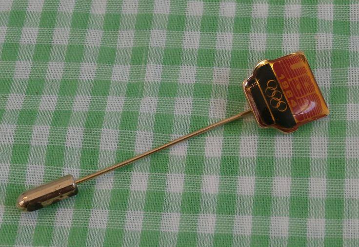 USA 1984 Olympics Stick Pin, Collectible Olympic Souvenir