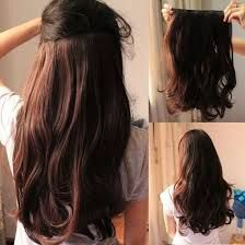 137 best hair extension images on pinterest hair inspiration clip in extensions echthaar brown tutorial pmusecretfo Image collections