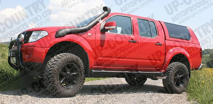 Nissan Navara D40 OFF-ROAD Body Lift Kit - Up-Country 4x4 ...