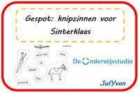 ©JufYvon: Gespot: Knipzinnen voor Sinterklaas