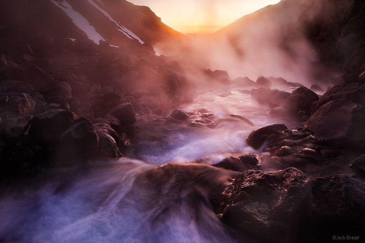 Valle de Aguas Calientes : Termas de Chillán, Chile : Mountain Photography by Jack Brauer