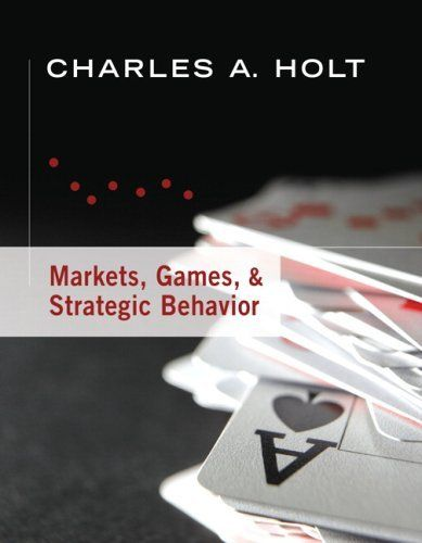 303 best jobs images on pinterest behavior manners and shops markets games strategic behavior by charles a holt 7895 publication fandeluxe Gallery