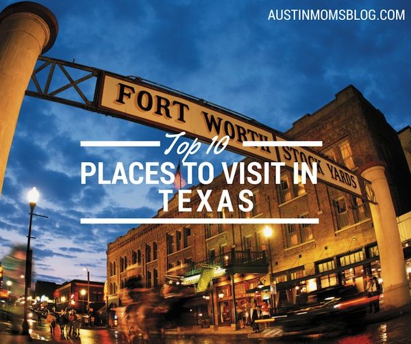 The top 10 places to visit in Texas…that's hard. We obviously live in a very large state, with some amazing cities and tiny towns. It was extremely hard choosing my top ten. Don't be mad if I left out your favorite destination! These are in alphabetical order. Top 10 Best Places to Visit in Texas…