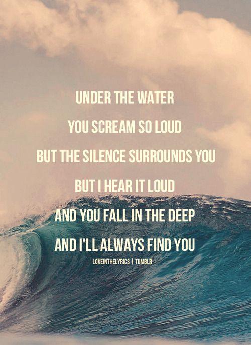 Bottom of ocean lyrics