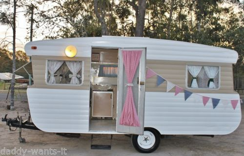 For Sale on Ebay ~ Vintage-Retro-Caravan-Weekender-Mobile-Site-Cupcake-Catering-Van-suits-Hotrod