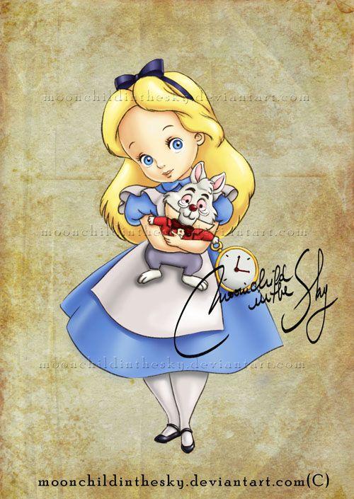 Crianças Disney Princesas Alice
