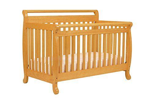 DaVinci Emily 4-in-1 Convertible Crib, Honey Oak