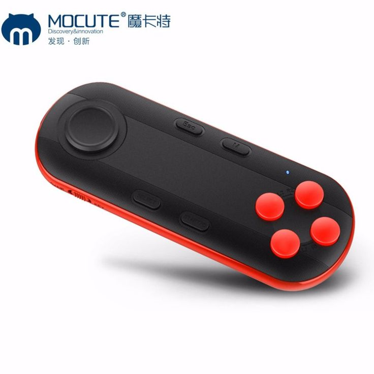 MOCUTE 051 Bluetooth Gamepad VR Controller Joystick Selfie Shutter Remote Control For iOS Android for Phone PC TV box Smart TV. Click visit to buy #games