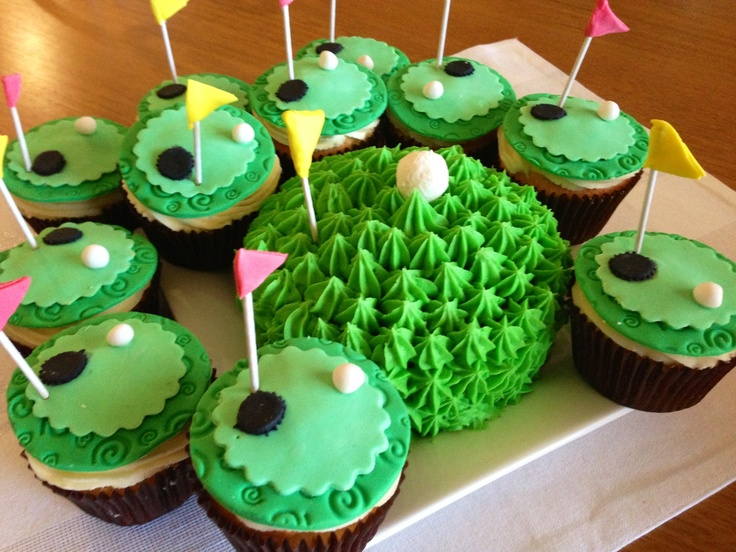 Golf Cupcake Images : 17 Best images about Golf cupcakes on Pinterest Golf ...